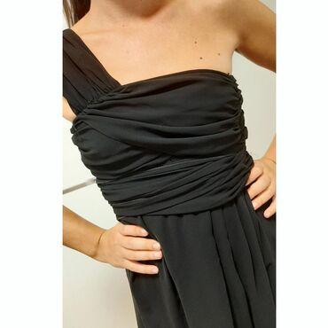 Unikatna duga haljina Vezuje se oko struka, moze se nositi kao top ili