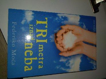 Knjige, časopisi, CD i DVD | Kragujevac: Tri metra iznad neba najlepsa knjiga