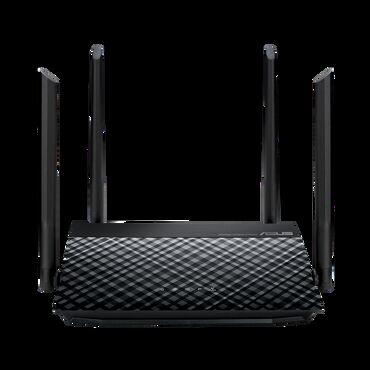 работа в швеции бишкек in Кыргызстан   КОРОВЫ, БЫКИ: Wi-Fi роутер 4 антенны ASUS RT-N19 Маршрутизатор стандарта Wi-Fi (N600
