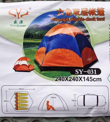 Šatori - Beograd: Палатка. Две позиции установки: Маскитная сетка со всех сторон. + дожд