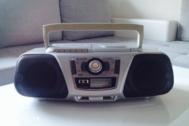 Mini muzicka linija sharp qt-cdi4i portable cd stereo system, 230-240  - Novi Sad