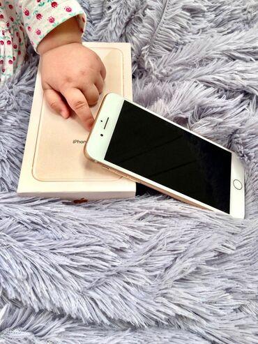 IPhone 8 Plus | 64 GB | Cəhrayı qızıl (Rose Gold) | İşlənmiş