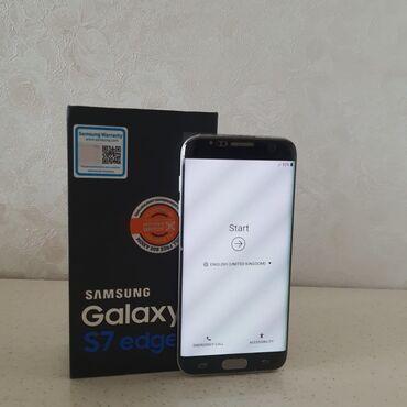 s 6 edge - Azərbaycan: Samsung Galaxy S7 Edge | 32 GB | Qızılı | Çatlar, cızıqlar, Sensor, Barmaq izi
