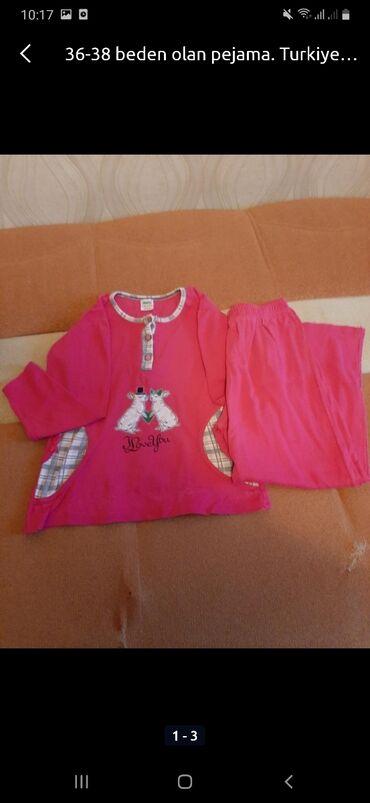 pijama - Azərbaycan: 2 el pijama razmer 36-38
