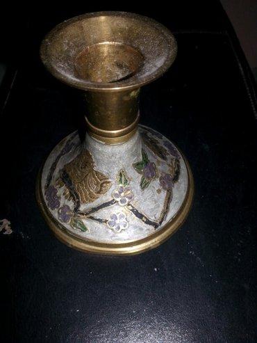 Prodaje se mesingovan svecnjak - Crvenka - slika 2
