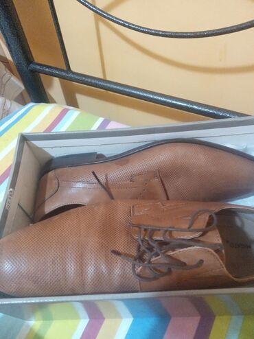 Παπούτσια χρώμα ταμπά μια φορά φορέθηκαν νούμερο 44 αγορασμενα από το