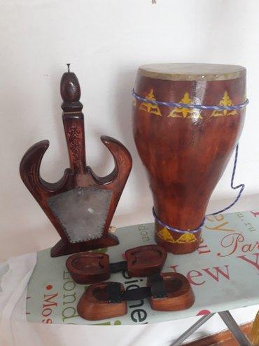 Кыргызские нац. музык. инструменты в Бишкек