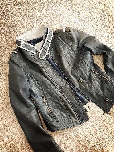 юбка в пол трикотаж в Кыргызстан: Снизила цену!!!Срочно в связи с переездом, продаю куртку, натуральная