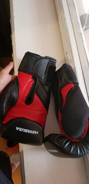 Перчатки - Кыргызстан: Кожанные боксерские перчатки. Размер 12. Пользовались 3 раза