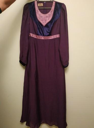 вечернее платье шелк в Кыргызстан: Платье, ткань: шёлк, одевала один раз, размер 42-44, подойдёт на кыз