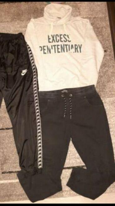 Duks i pantalone najk trenerka prodata velicina xl oba za 450 din