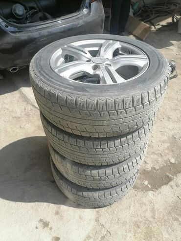 Продам комплект колес : Диски ровные без варок, не кривые. Производств