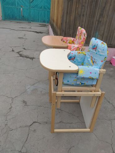 Детские стульчики для кормления почти не пользовались, как новые цена