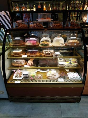 Витринные холодильники для кофейных в Лебединовка
