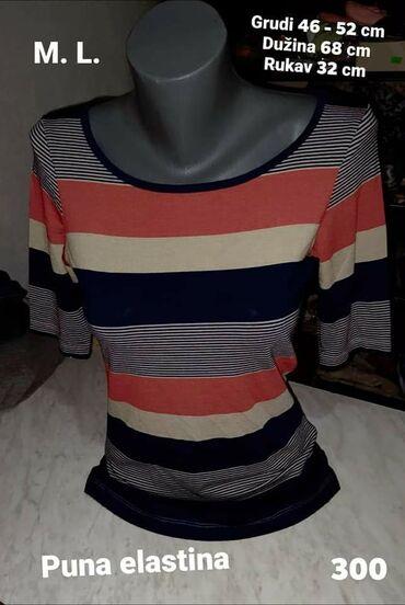 Majica M. L. Puna elastina Kvalitetna