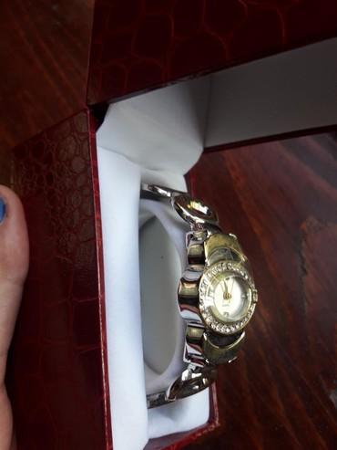 Ostalo | Pirot: Nov nikad nosen sat, zlatno srebrni sa cirkonima