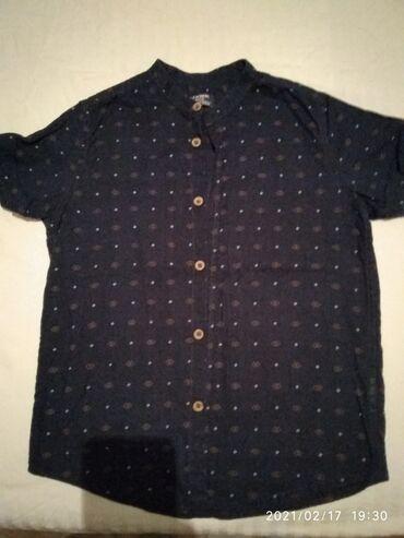 Рубашка, футболка, на мальчика 7-8 лет почти новая,цена 250 сом