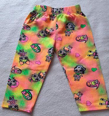 Ostala dečija odeća   Futog: LOL 3/4 pamučne helanke za devojčice, veličine od 2-14