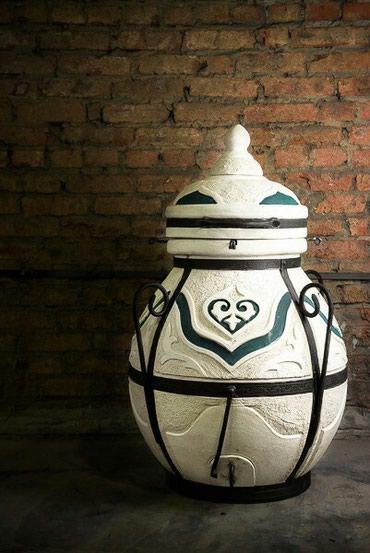 """Тандыр """"Дастархан""""Изготовлен из шамотной глины.Толщина стенки"""
