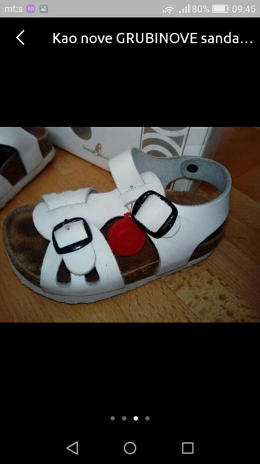 Grubin sandale za devojčice u broju 25 - Pozarevac