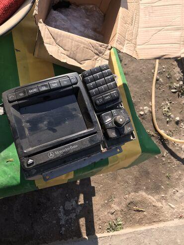 мерседес w220 запчасти в Кыргызстан: Магнитола Мерседес w220 на запчасти
