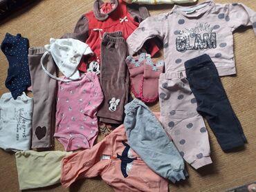 Одежда для девочки от 3 мес.до 2 года. Одежда вся чистая и
