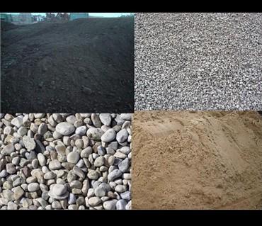 Грузовые перевозки - Кант: Доставка камень щебень отсев песок