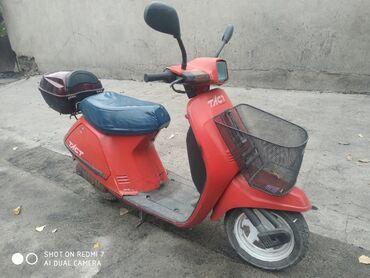 продаю скутер бишкек в Кыргызстан: Скутер Хонда 50куб 2 тактный на полном ходу
