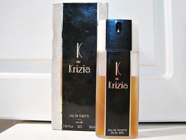 Aldo sandale - Srbija: K de Krizia K de Krizia donosi arome aldehida, breskve, zumbula