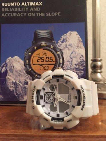 chasy g shock kachestvennaja replika в Кыргызстан: Белые Мужские Наручные часы Casio