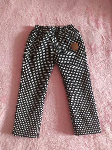 Тёплые штанишки внутри утеплённые,примерный возраст 3-4 года в