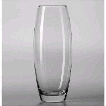 Вазы - Кыргызстан: Супер ваза из стекла напольная,диаметр 20 см,высота 70 см,хорошо