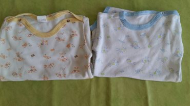 Bodici za bebe vel.98,100%pamuk(polovni i ocuvani),oba za 200din - Petrovac na Mlavi