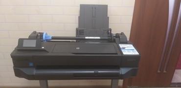 купить широкоформатный принтер в Кыргызстан: Продаю отличный широкоформатный плоттер hp Т120, формат бумаги 610
