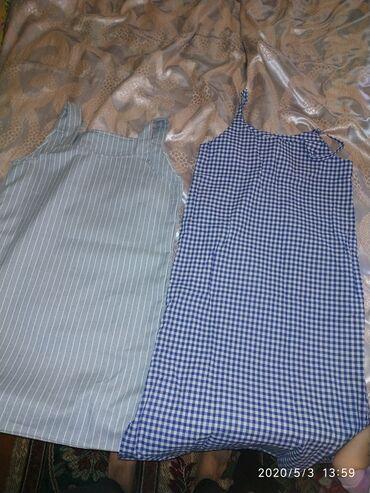Платья в Ак-Джол: Новые сарафаны размер 42-46 один по колено, другой ниже колена два за