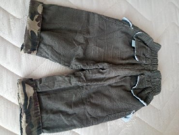 Guess-jeans-karirane-pamuk - Srbija: Pantalone sitni somot pamuk postavljene i ocuvane