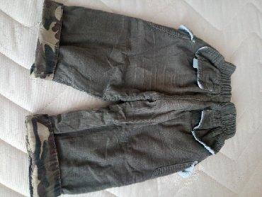 Pantalone pamuk polyester - Srbija: Pantalone sitni somot pamuk postavljene i ocuvane