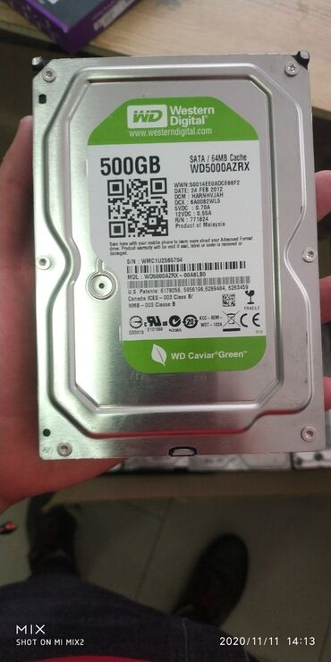 штампованные диски r15 цена в Кыргызстан: Жёсткие  диски 500 гб 100 % здоровье  Цена окончательная