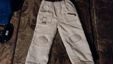 Pantalonice za decake od 2 god.somot-termo(jako tople i dobro ocuvane) - Petrovac na Mlavi