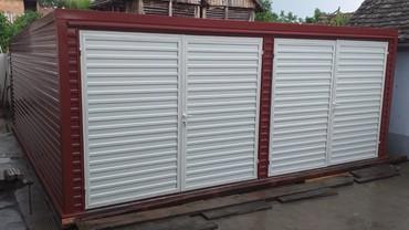 Garaže - Srbija: Garaze - Montažne garaže modernog dizajna i vrhunskog kvaliteta !
