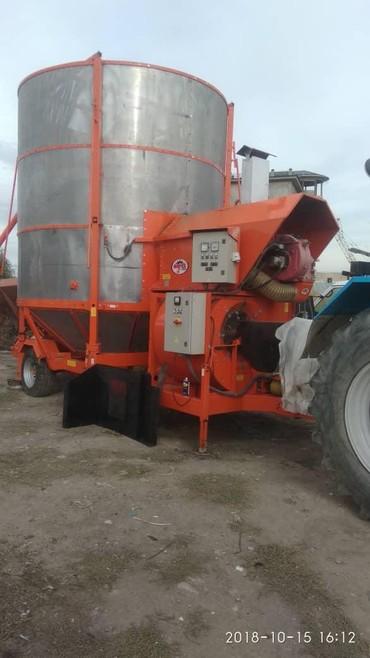 Грузовой и с/х транспорт - Кыргызстан: Продаю МОБИЛЬНАЯ зерносушилка ИТАЛЬЯНСКАЯ производство, сушим