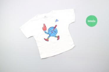 Дитяча спортивна футболка з принтом ADIDAS, вік 2-3 роки   Довжина: 36