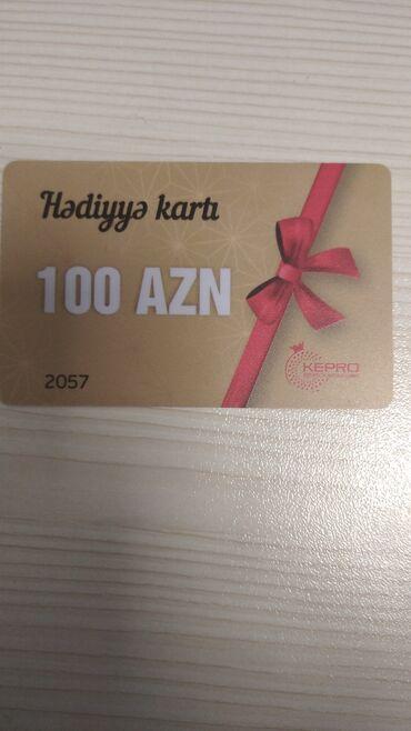 Digər - Azərbaycan: Продается подарочная карта на все виды массажа и другие процедуры