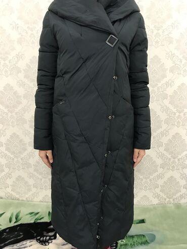 Зимняя куртка . Пуховик. Изумрудный цвет