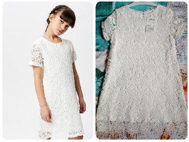 Haljina-postavljena - Srbija: Nova, sa etiketom, Calliope, italijanska haljina za devojčice uzrasta