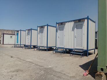 Xidmətlər - Azərbaycan: Konteyner wc ( tualet ve hamam ) kabinlerin satisi ve sifarisnen