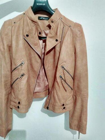 Женские куртки в Ак-Джол: Снизила цену!!! Срочно продаю куртку натуральная кожа. Производство Ту