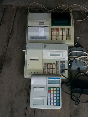 ККМ Меркурий 111Ф,Ока 102Ф,Миника 1102ф Кассовые аппараты в Бишкек