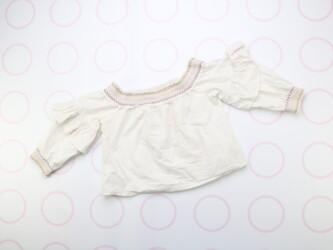 Укороченная нарядная детская кофточка Bershka-BSK GIRL,р.126 Длина: 19