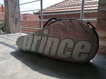 Sport i hobi - Srbija: Na prodaju Prince torba za tenis jako malo korišćena, bez oštećenja